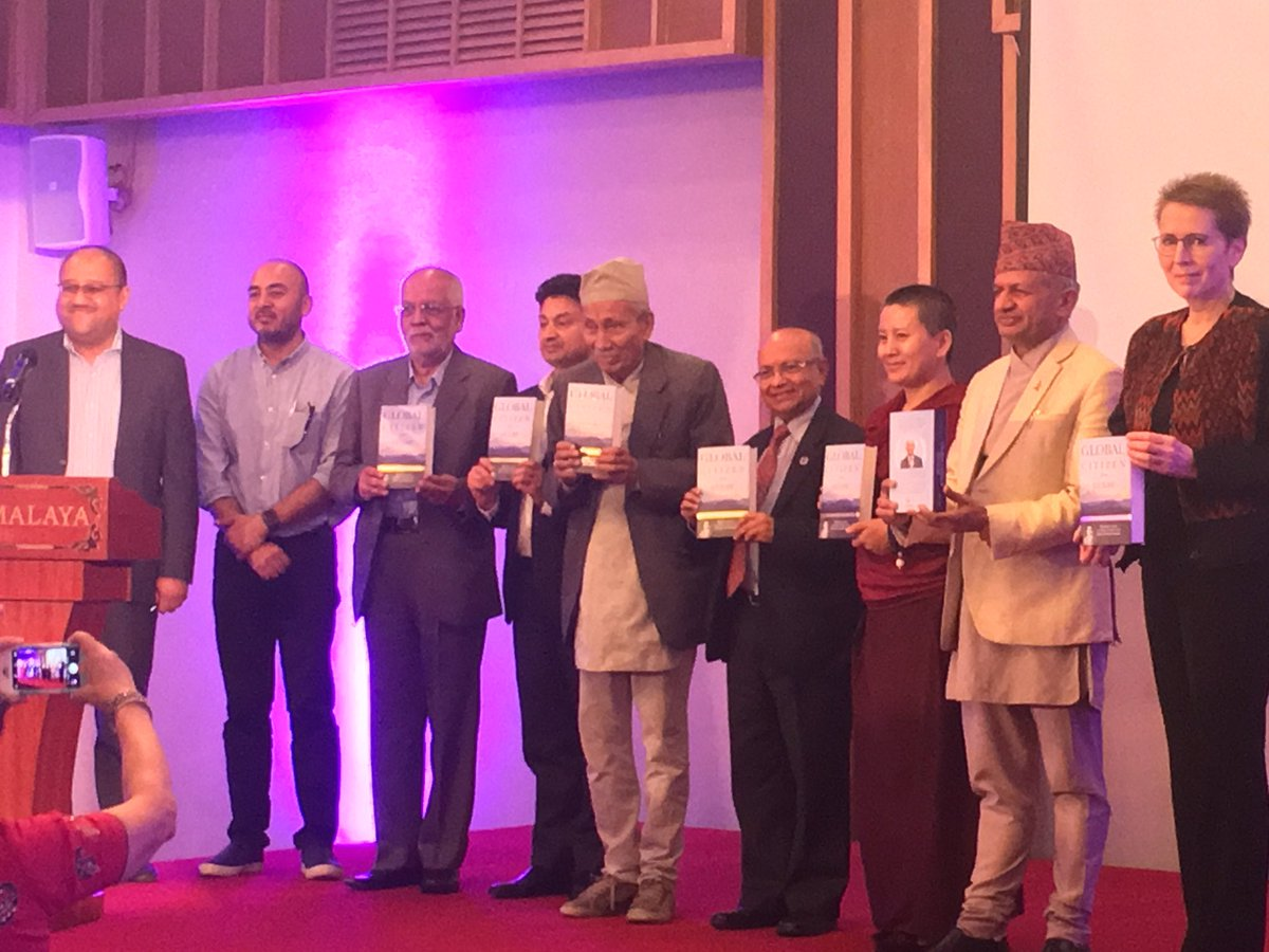 Remarks at book launch of Global Citizen from Gulmi