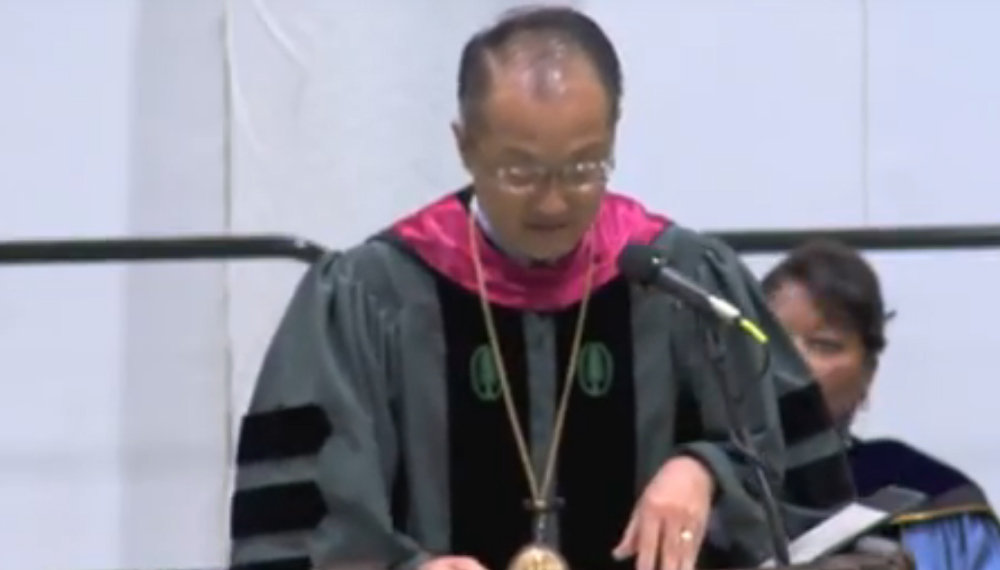 Introduction of Kul Chandra Gautam by Dartmouth College President Jim Yong Kim