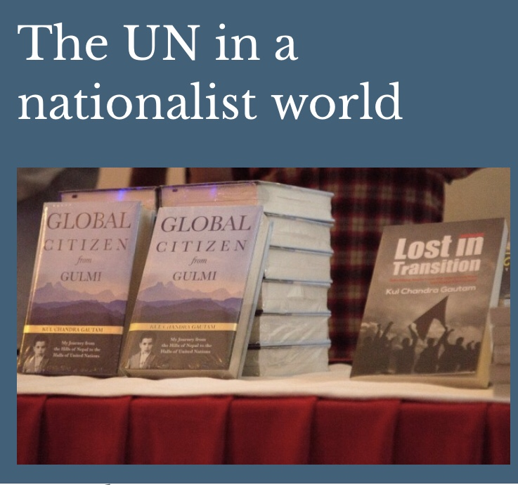 The UN in a nationalist world
