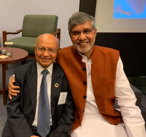 KUL with Nobel Peace Prize laureate Kailash Satyarthi