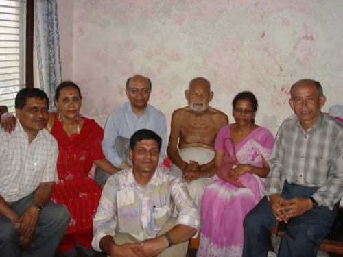 With Kalidas Guru  in Butwal 2006